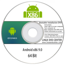 Android x86 9 .0 (32/64Bit)