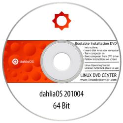 DahliaOS Linux 200804 (64Bit)