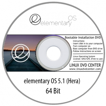 "Elementary OS 5.1 ""Hera"" (64Bit)"