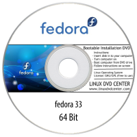 Fedora 30, 31, 32, 33, 34 (64Bit)
