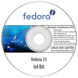 Fedora 33 (64Bit)